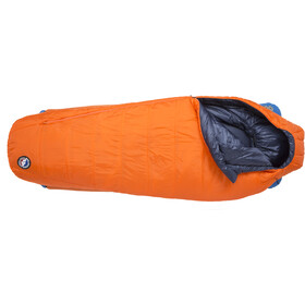 Big Agnes Lost Dog 15 Sleeping Bag Wide Long orange/navy